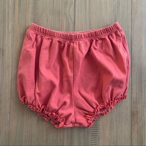 Feather Baby | Coral Toddler Bloomers